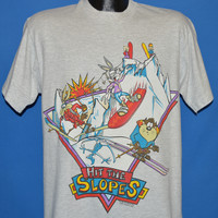 90s Looney Tunes Hit The Slopes t-shirt Large