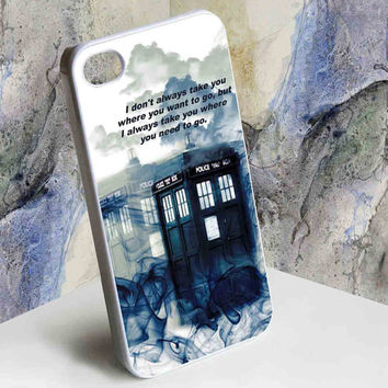 Tardis Doctor Who Smoke Quotes for iphone 4/4s, iphone 5, Samsung Galaxy S3 i9300, Samsung Galaxy S4 i9500 case