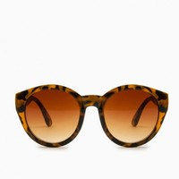 DEANDRE SUNGLASSES IN BROWN AND TORTOISE