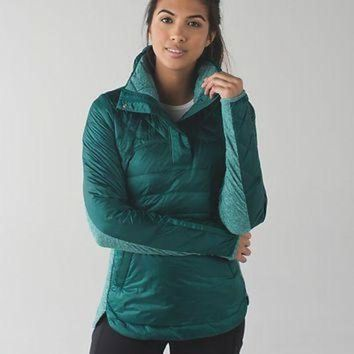 CREYON down for a run pullover | women's long sleeve running tops | lululemon athletica