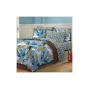 My Room Extreme Sports Complete Bed In A Bag Bedding Set Twin/Txl