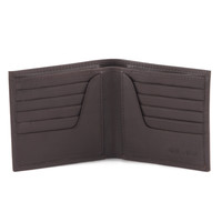 Style n Craft 300798-BR Bifold Hipster Leather Wallet in Brown
