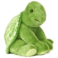 "Plush Turtle, 13"" Tall by Aurora"