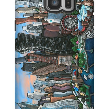 Michael Birawer Chicago Galaxy Note 5 Extra Protective Bumper Case