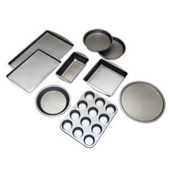 BakerEze Nonstick 9 Piece Baker's Basics Set