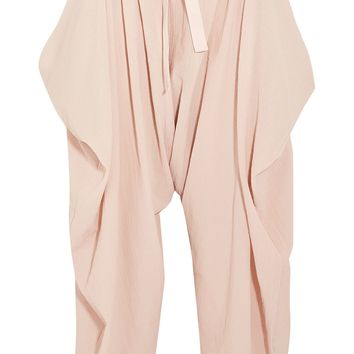 Crinkled-cotton pants | STELLA McCARTNEY | Sale up to 70% off | THE OUTNET