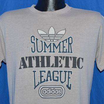 80s Adidas Summer Athletic League t-shirt Medium