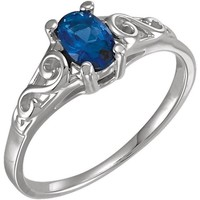 Precious Gift™ Youth Birthstone Ring - September Sapphire
