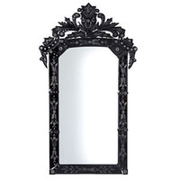 Domino Black Venetian Mirror|Mirrors|Mirrors  Screens|French Bedroom Company