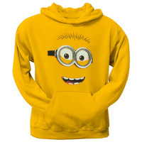 Despicable Me - Minion Face Pullover Hoodie