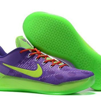 Nike Kobe A.d. Cheetah Purple Green Red - Beauty Ticks