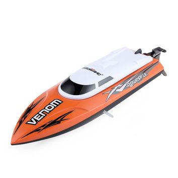 RC Boat UDI 001 Remote Control Boat Tempo Power Venom 2.4G Mini RC Speedboat with Auto Rectifying Deviation Direction Function