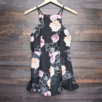after party floral romper