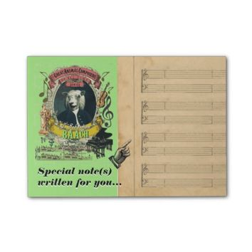 Funny Baach Bach Classical Music Parody Post-it® Notes