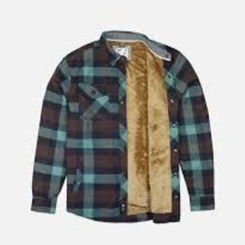 Jetty Sherpa Flannel Jacket