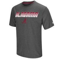 "Alabama Crimson Tide Shirt Men's Dry-Fit ""Sleeper"" T-Shirt Colosseum Grey"