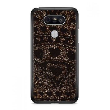 Asos Leggings In Glitter Heart LG G6 Case | Casefruits