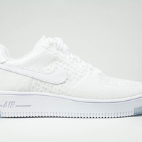 Nike Women's Air Force 1 Low Ultra Flyknit White/White