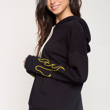 On Fire Sweatshirt Hoodie