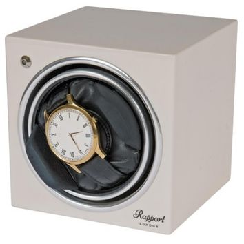 Rapport Evolution Single Watch Winder - White