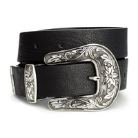 Belt with Large Buckle - from H&M