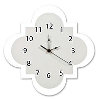 Dove Gray Wall Clock