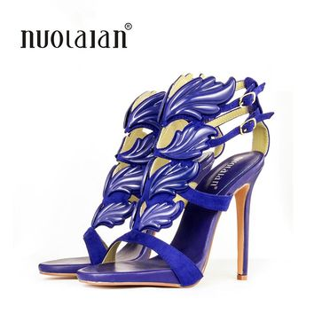 2018 Brand Shoes Woman High Heels Women Pumps Stiletto Thin Heel Women's Shoes Peep Toe High Heels Wedding Shoes size 35-42