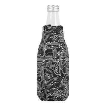 Computer Circuit Board Bottle Cooler