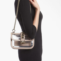 Valentino 'Rockstud - Small' Transparent Shoulder Bag | Nordstrom