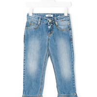 Msgm Kids Flared Ruffle Jeans - Farfetch