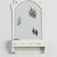 Plum & Bow Lattice Wall Vanity- White One