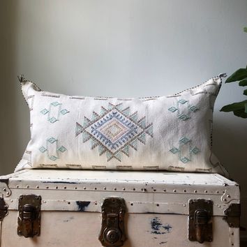 KING SIZE WASHED CREAM CACTUS SILK PILLOW COVER