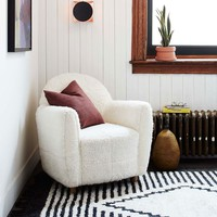 Commune Shearling Chair