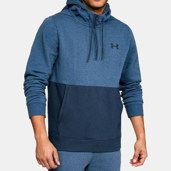 Men's UA Threadborne™ Fleece ½ Zip Hoodie | Under Armour US