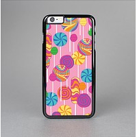 The Pink With Vector Color Treats Skin-Sert for the Apple iPhone 6 Skin-Sert Case