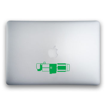 Yoda's Lightsaber from Star Wars Sticker for MacBooks and Apple Devices