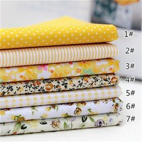 7pcs/set 100% Cotton Quilting Fabric for DIY Sewing Patchwork Kids Bedding Bags Tilda Doll Baby Cloth Textiles Fabric 2C0280