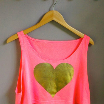 Crop Top Heart