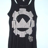 Crown the Empire tank from dainty flower
