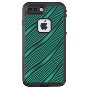 Teal Waves LifeProof FRĒ iPhone 7 Plus Case