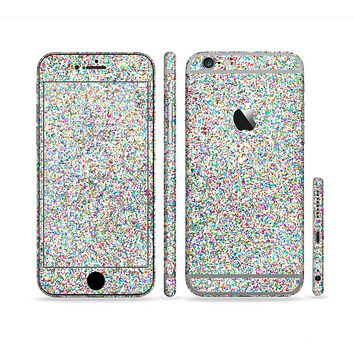 The Colorful Small Sprinkles Sectioned Skin Series for the Apple iPhone 6s Plus