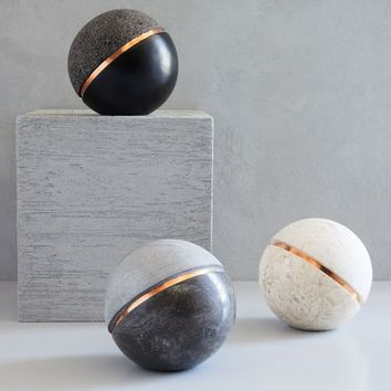 Stone Sphere Objects