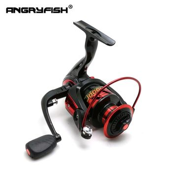 ANGRYFISH 3000/4000/5000 Spinning Reel 4.7:1 Gear Ratio Metal Coil Fishing Spinning Reel 8+1BB Bearing Balls Fishing Wheel
