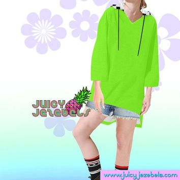 SIMPLE NEON Rave Wear Oversized Hoodie Oversized Sweater Oversize Hoodie Oversized Jumper Loose Sweater Rave Outfit Festival Clothing