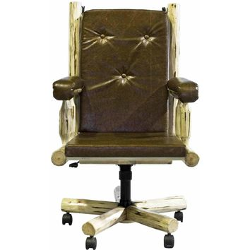 Montana Woodworks - Montana Collection Upholstered Office Chair