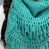 Let's Be Fringe Scarf
