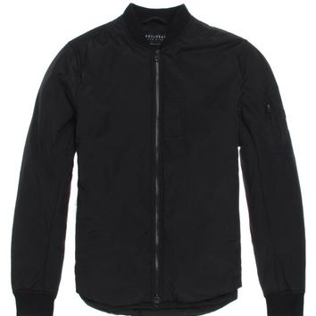 Bullhead Denim Co Shirtail Bomber Jacket - Mens Jacket - Black