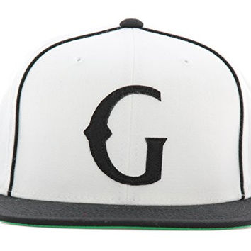 Grizzly Griptape Men's Native G Snapback Hat-White