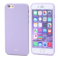 iPhone 6/6s Case - THZY Protective Case Bumper Soft TPU Back Cover for iPhone 6/6s 4.7 inches (Fragrant Lavender,Shock Absorbent,Ultra Thin ,Light Weight,Scratch-Resistant,Perfect Fit)