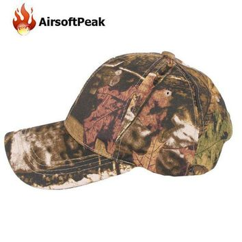 ONETOW Tactical Camo Baseball Caps Camouflage Hip-hop Polo Hats Hiking Cycling Military Sunsh